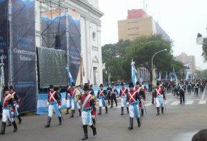Festejo del 25 de Mayo en la ciudad de Resistencia