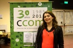 Sofía Gómez Pisa, estudiante, editora y escritora.